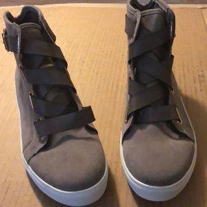 Shoe Dazzle Shoes - Women's size 11, ankle strap shoes